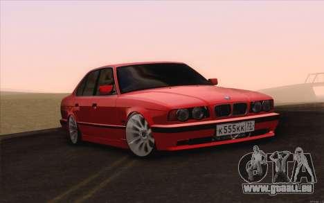 BMW M5 E34 für GTA San Andreas rechten Ansicht