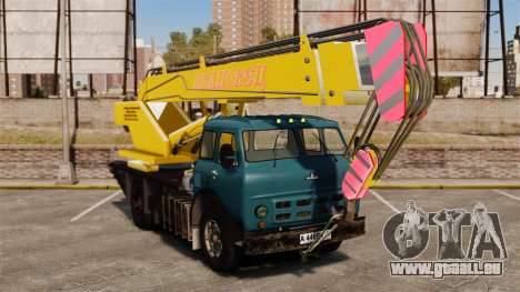 MAZ KS3577-4-1 Ivanovets pour GTA 4