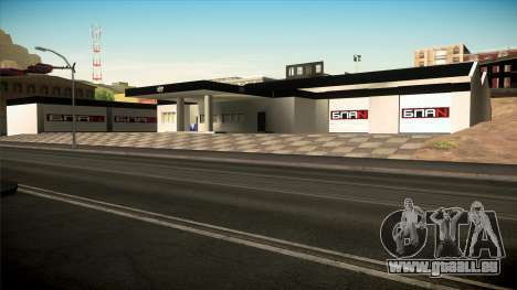 Die Garage in Doherty BPAN v1. 1 für GTA San Andreas