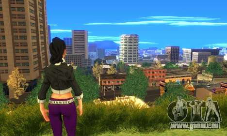 Shaundi From Saints Row Third für GTA San Andreas her Screenshot