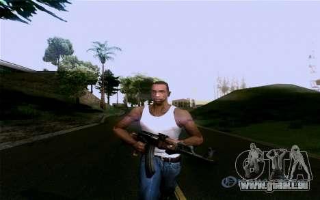 AK-47 pour GTA San Andreas huitième écran