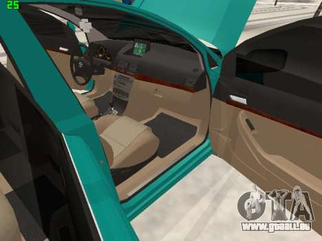 Toyota Avensis 2.0 16v VVT-i D4 Executive pour GTA San Andreas vue de côté