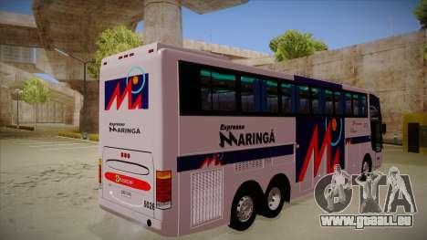 Busscar Jum Buss 400 P Volvo pour GTA San Andreas vue de droite