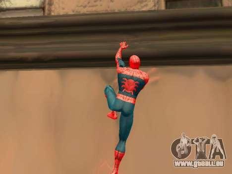 Klettern Sie Wände wie Spider-man für GTA San Andreas zweiten Screenshot