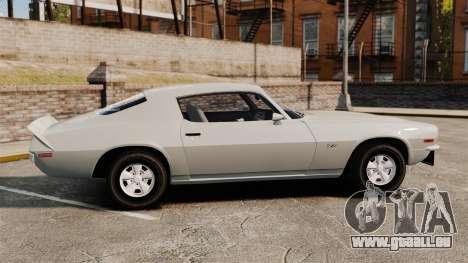 Chevrolet Camaro Z28 1970 pour GTA 4 est une gauche