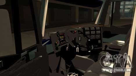 Iveco Hi-Land für GTA San Andreas Rückansicht