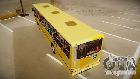 Marcopolo Torino G6 MB OF 1721 pour GTA San Andreas vue arrière
