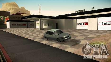Le garage de Doherty BPAN v1.1 pour GTA San Andreas cinquième écran