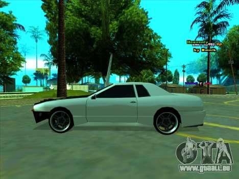 Drift Elegy by zhenya2003 pour GTA San Andreas sur la vue arrière gauche