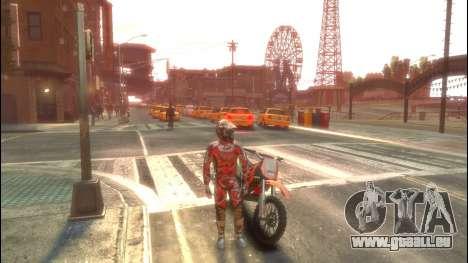 Fahrer für GTA 4 Sekunden Bildschirm