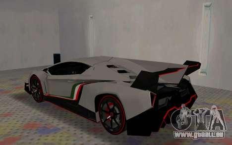 Lamborghini Veneno Advance Edition für GTA San Andreas rechten Ansicht