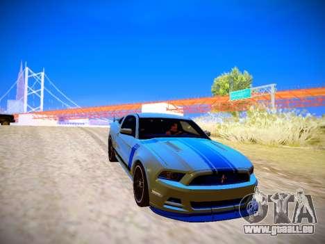 ENB by DjBeast for SA:MP Light Version für GTA San Andreas sechsten Screenshot