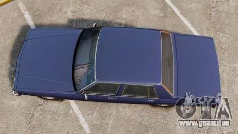 Chevrolet Caprice 1986 pour GTA 4 est un droit