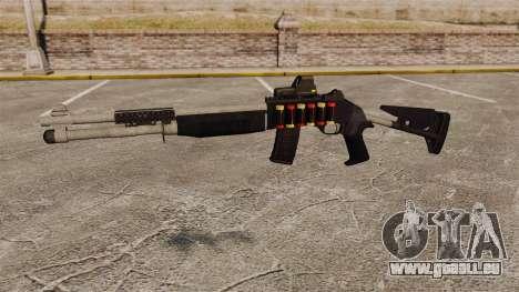 Fusil de chasse M1014 v4 pour GTA 4 troisième écran