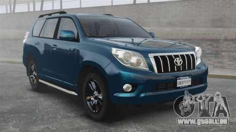 Toyota Land Cruiser Prado 150 pour GTA 4