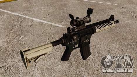 Automatische Carbine M4 VLTOR v4 für GTA 4 Sekunden Bildschirm