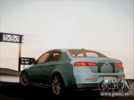 Alfa Romeo 159 Sedan für GTA San Andreas Seitenansicht