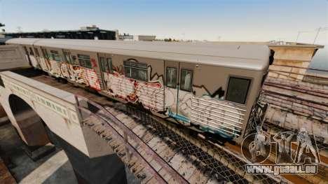 Neue Graffiti auf dem U-Bahn-v2 für GTA 4