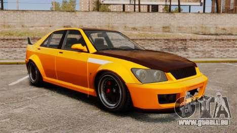 Berline Sultan RS pour GTA 4