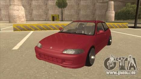 Honda Civic EG6 Camber für GTA San Andreas
