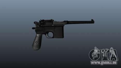 Mauser Pistol v2 für GTA 4 dritte Screenshot