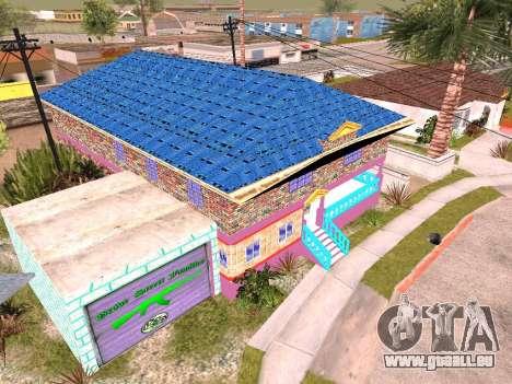 Texture de Karl House pour GTA San Andreas troisième écran