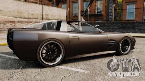 Coquette Targa pour GTA 4 est une gauche