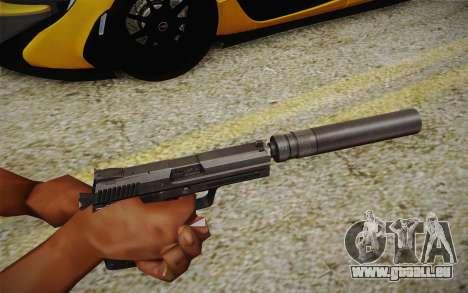 USP45 avec silencieux pour GTA San Andreas deuxième écran