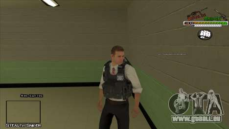 SAPD Pak skins für GTA San Andreas fünften Screenshot