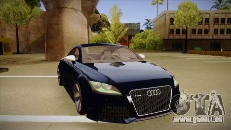 Audi TT RS pour GTA San Andreas laissé vue