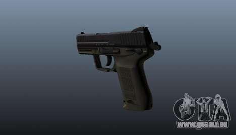 Pistolet HK45C v2 pour GTA 4 secondes d'écran