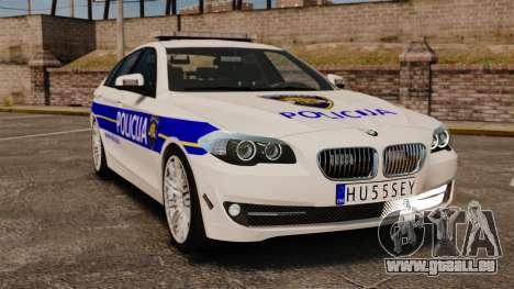 BMW M5 Croatian Police [ELS] für GTA 4