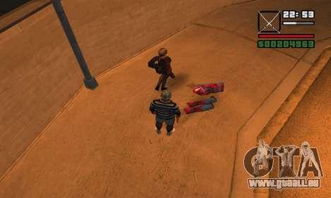 DeadPool Mod pour GTA San Andreas cinquième écran