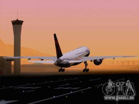 Boeing 777-200ER Delta Air Lines pour GTA San Andreas salon