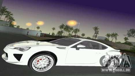 Subaru BRZ Type 2 pour GTA Vice City vue latérale