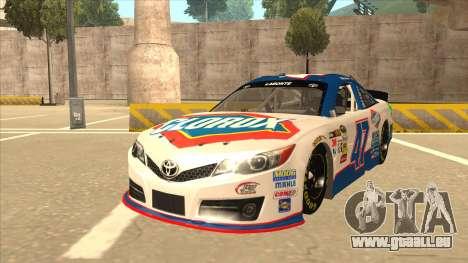 Toyota Camry NASCAR No. 47 Clorox für GTA San Andreas