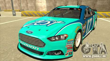 Ford Fusion NASCAR No. 17 Zest Nationwide pour GTA San Andreas