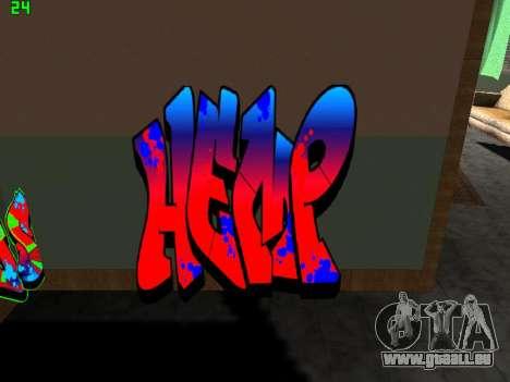 Graffity mod für GTA San Andreas her Screenshot