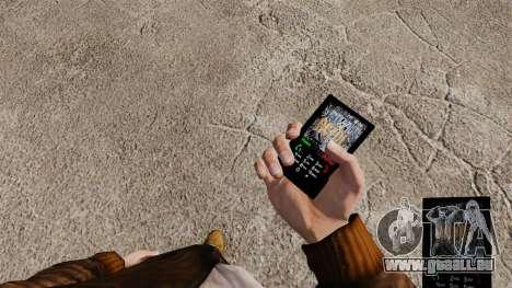 Thème de l'ACDC pour votre téléphone pour GTA 4