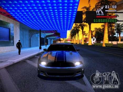 ENB by DjBeast for SA:MP Light Version für GTA San Andreas neunten Screenshot