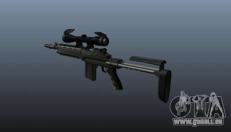 Fusil automatique M14 EBR v2 pour GTA 4 secondes d'écran