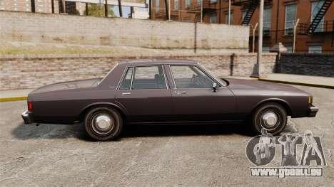 Chevrolet Impala 1985 pour GTA 4 est une gauche