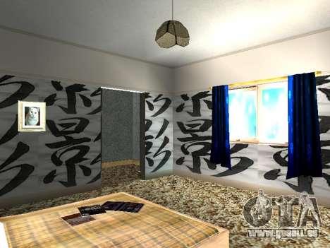 Innen 2-stöckige Neubau CJ für GTA San Andreas elften Screenshot