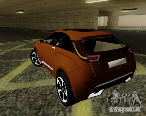 Lada X-RAY pour GTA San Andreas laissé vue