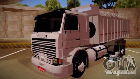 Scania 113H frontale Caçamba BETA pour GTA San Andreas