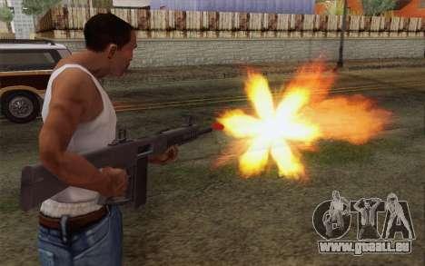 L'AA-12 shotgun pour GTA San Andreas troisième écran
