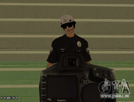 Los Angeles Air Support Division Pilot für GTA San Andreas fünften Screenshot