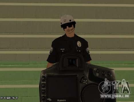 Los Angeles Air Support Division Pilot für GTA San Andreas fünften Screenshot