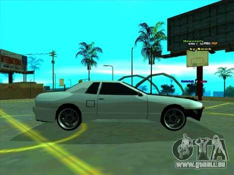 Drift Elegy by zhenya2003 pour GTA San Andreas laissé vue