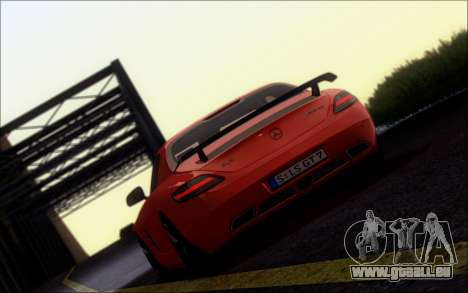 Mercedes-Benz SLS AMG für GTA San Andreas linke Ansicht